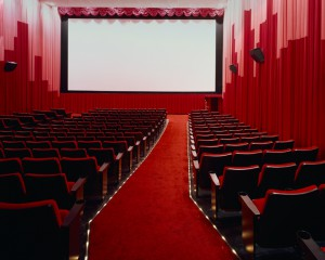 Interior of a Movie Theater