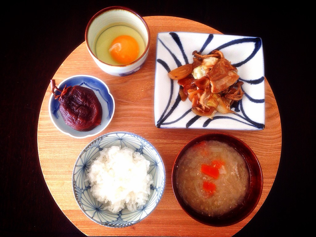 朝ごはん 2014.11