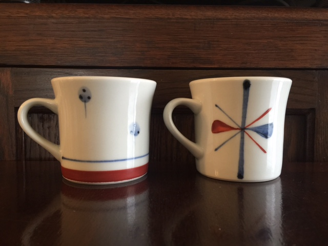 反マグカップ 2種