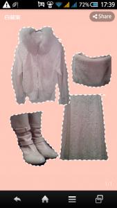 白装束のアイテム一例