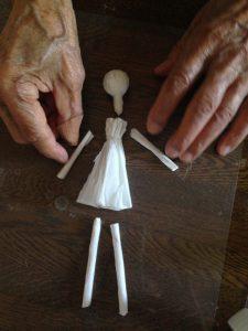 人形のパーツを作る